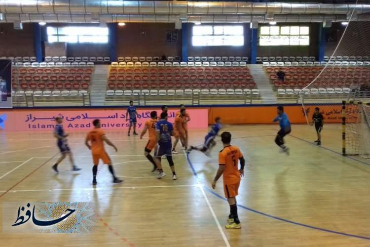 تثبیت صدرنشینی تیم هندبال مس کرمان در گروه دو